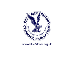 The Blue Falcons Gymnastics Display Team