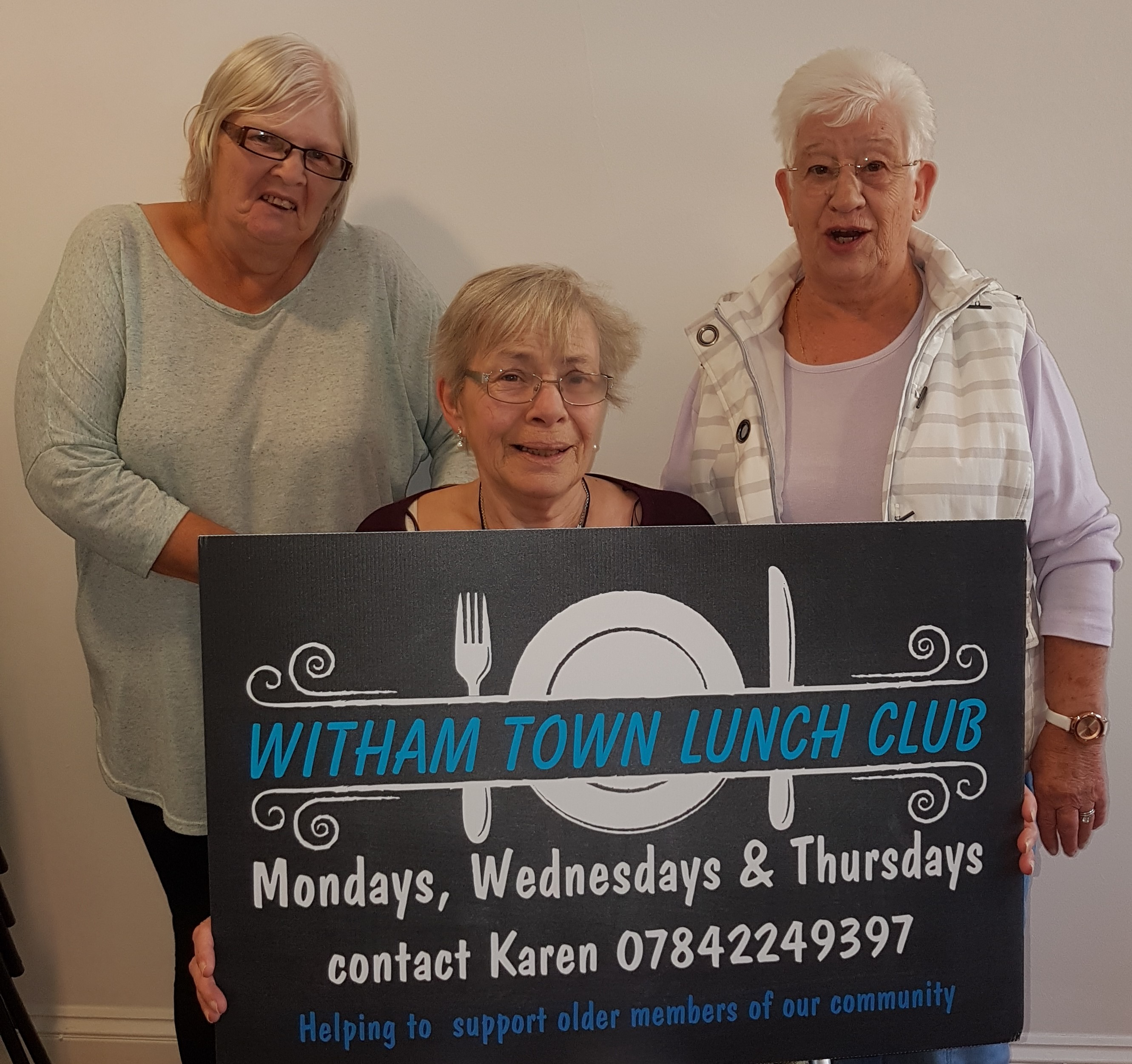 Witham Town Luncheon Club - a lifeline for the older generation