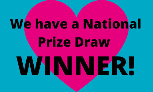 Congratulations to the Winner of the Spring National Prize Draw 2020!