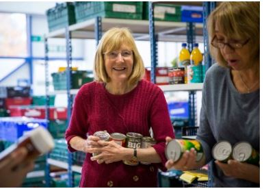 Colchester Foodbank - supporting the community during COVID19